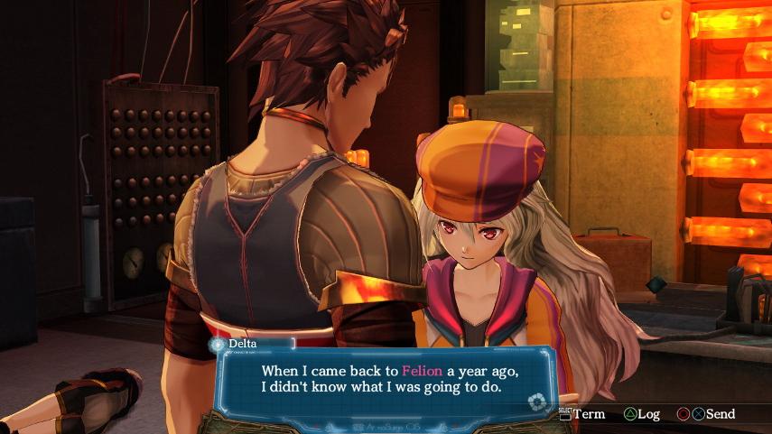 In diesem Japan-Rollenspiel dreht sich alles um die Beziehungen zwei Pärchen zu- und untereinander.