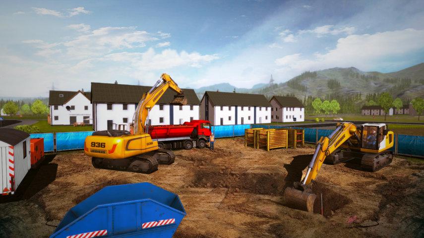 Die Baustellen werden immer größer. Gelingt es dir, dich als Baulöwe zu beweisen?