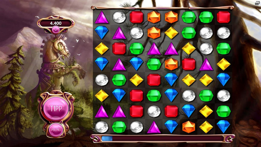 Bejeweled 3 - kostenlos und vollkommen unverbeindlich. Aber sei schnell, bevor die Aktion endet!