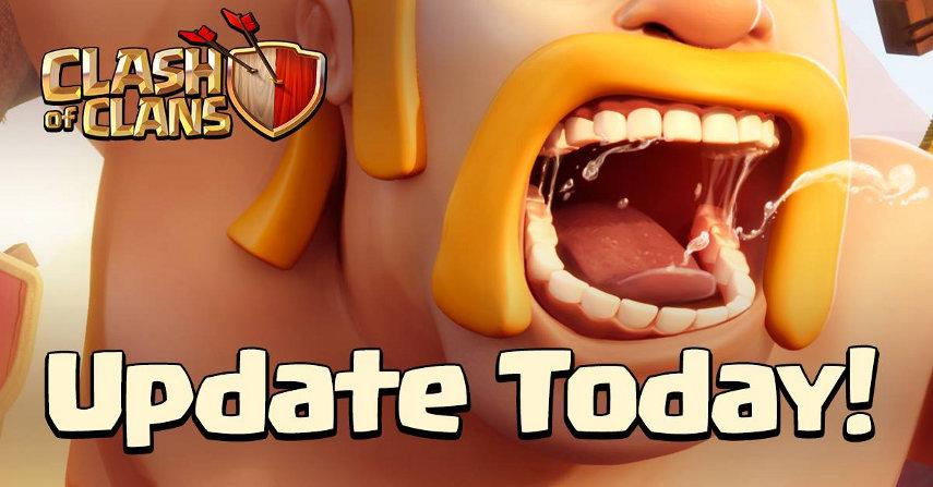 Die Wartungsarbeiten an Clash of Clans sind beendet. Ab sofort kannst du das neue Update herunterladen.