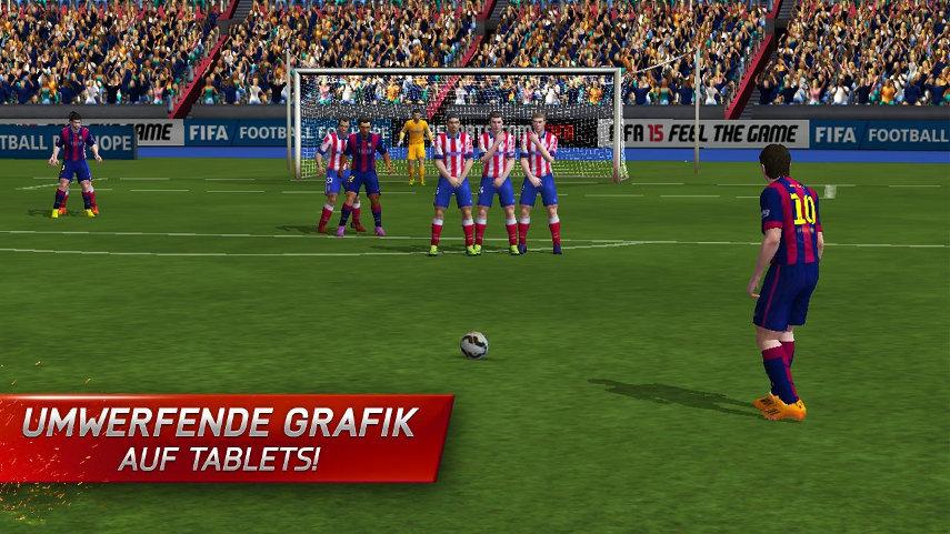 Mehr als 1GB an Daten wirst du für FIFA 15 Ultimate Team herunterladen müssen.