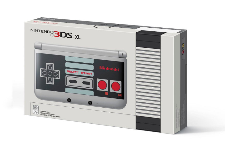 Der 3DS XL im NES-Look. Bisher jedoch nur für die USA bestätigt.