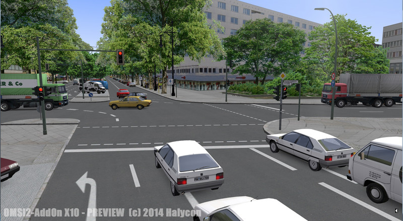 OMSI 2 Add-On Berlin Screenshot
