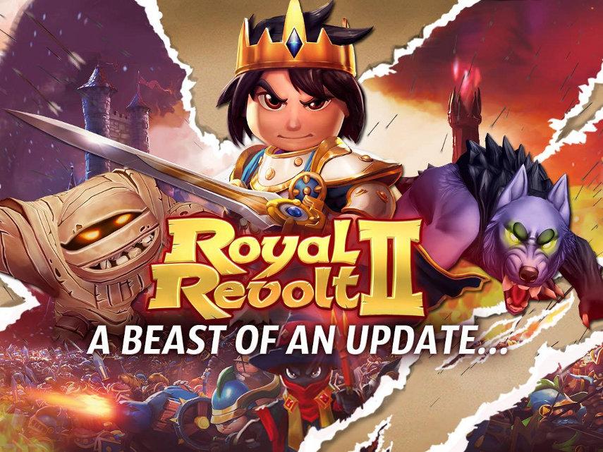 70 neue Levels, frische Monster für deine Armee und jede Menge Schätze warten im neuen Update auf dich.