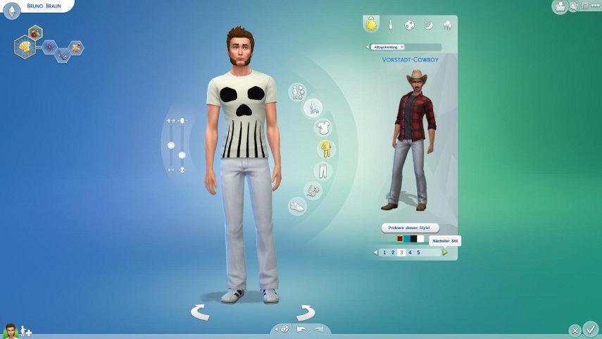 Im neuen Erstelle deinen Sim-Editor erschaffst du die Sims seiner Träume.