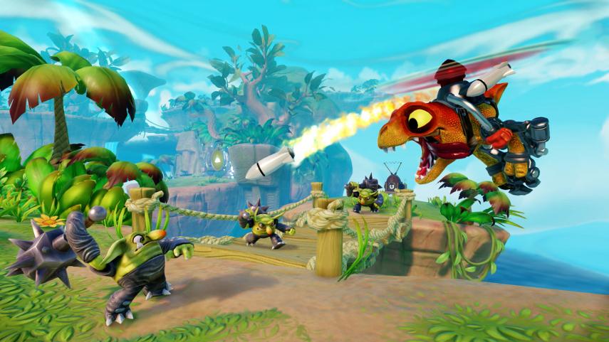 Skylanders Trap Team: Einer der wenigen Titel von Fremd-Herstellern, der auch für die Wii U erscheint.