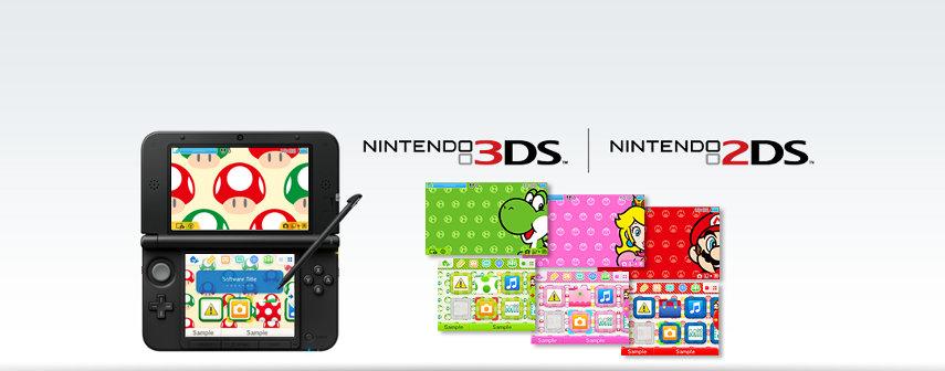 Der Home-Bildschirm auf deinem 3DS/2DS ist dir zu langweilig? Das kannst du nun ändern.