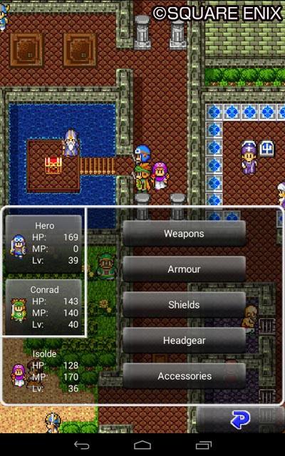 Übersichtliche Menüs findest du in der Neuauflage des Spiels.