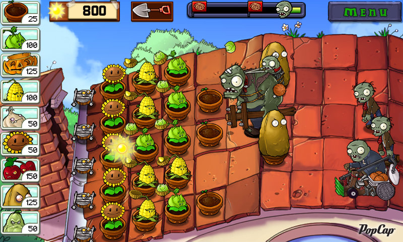 Plants vs. Zombies - der Klassiker unter den Tower Defense-Spielen.