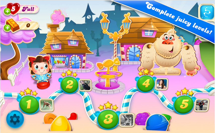 Spiele Candy Crush Saga
