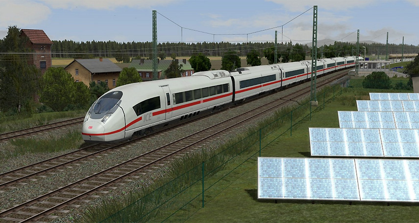 Im neuen Eisenbahn.Exe-Spiel wirst du einerseits topmoderne Züge lenken, andererseits fährst du auch antike Dampflokomotiven.