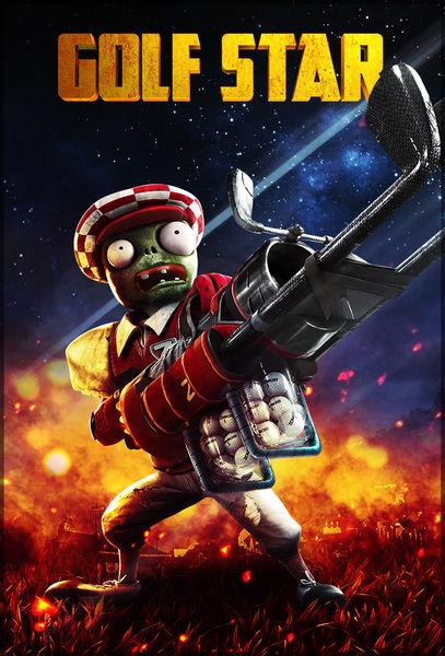 Der Golf-Star verschießt Golfbälle und ist einer der neuen Zombie-Charaktere.