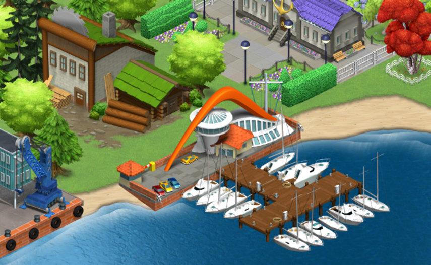 Ein kleiner Yachthafen gefällig? Kein Problem in Harbor World, aber hier gehen auch ganz andere Dinge.