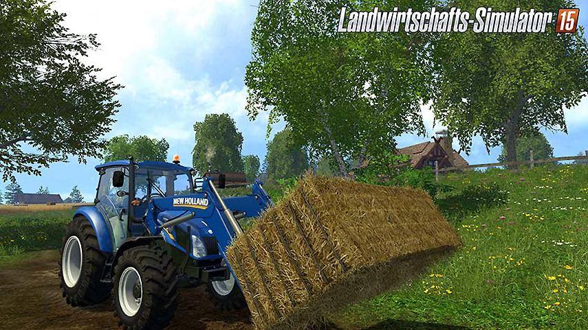 Ackern auf dem Land: So kennt man die Landwirtschafts-Simulator-Reihe.