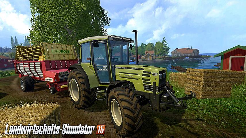 Grüne Traktoren dürfen natürlich auch beim neuen LaWiSim nicht fehlen!