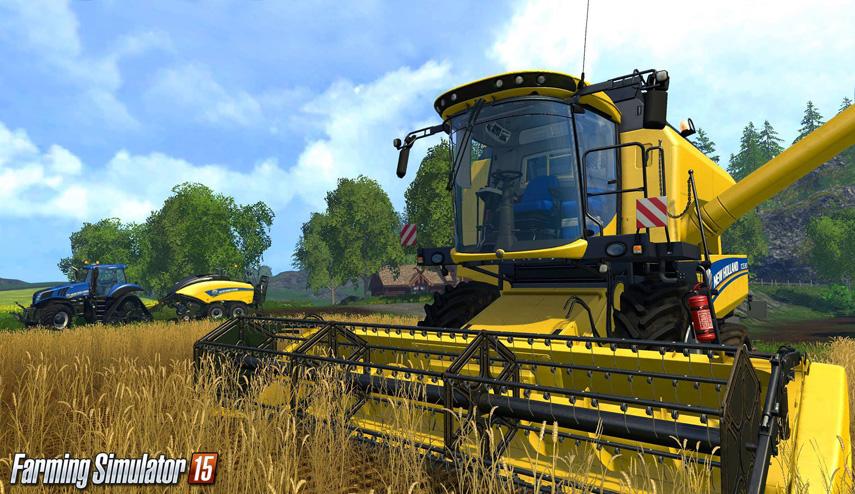 Mähdräscher wird es im Landwirtschafts-Simulator 15 natürlich auch geben.