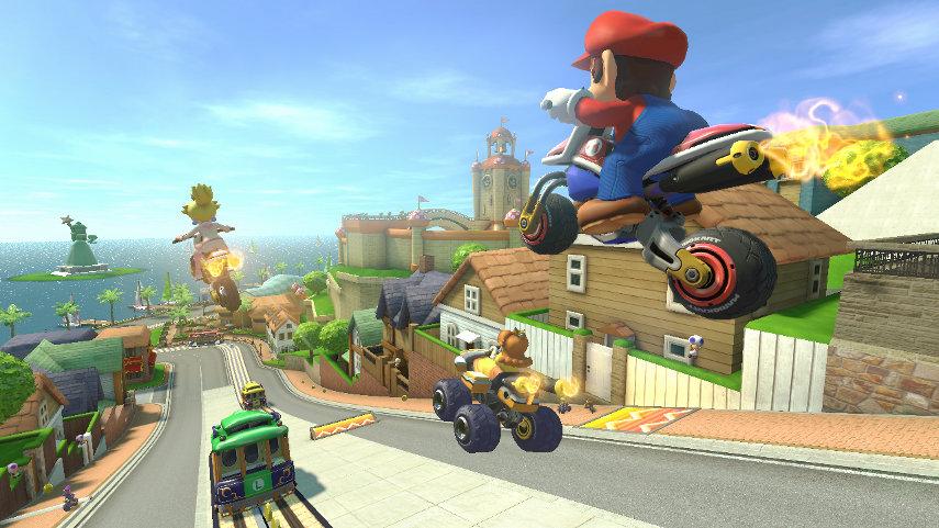 Mario macht den Überflieger und räumt neben der GIGA-Maus auch gleich noch den Tommi-Award ab.