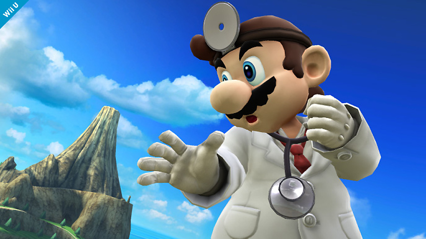 Dr. Mario aus Super Smash Bros.