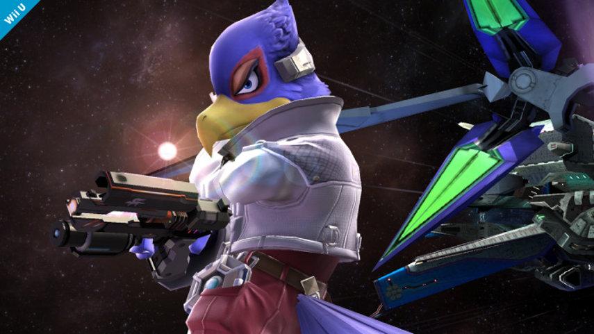 Falco aus Super Smash Bros.