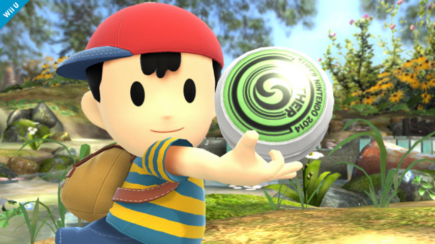 Ness aus Super Smash Bros.