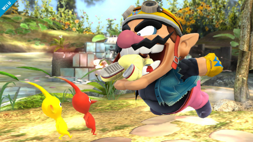 Wario aus Super Smash Bros.