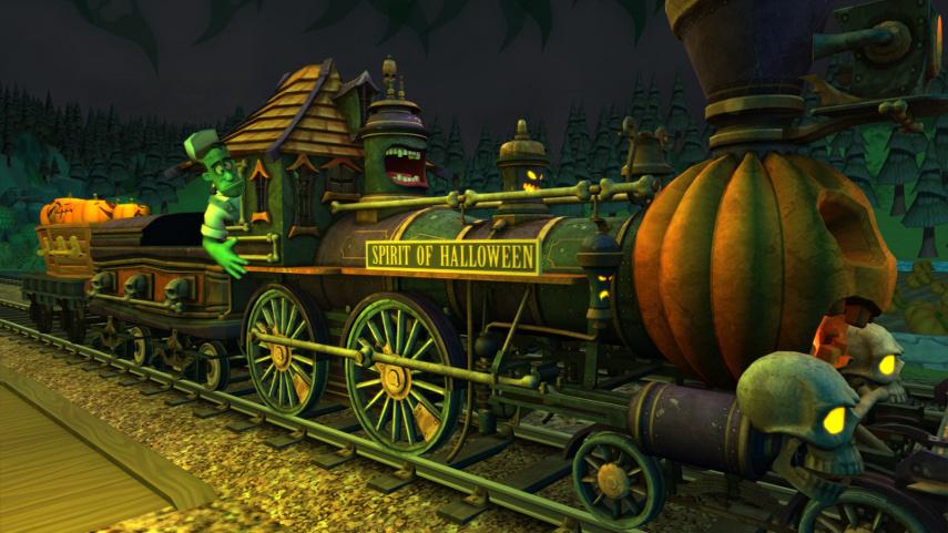Wenn dieser Zug mal nicht gruselig aussieht...