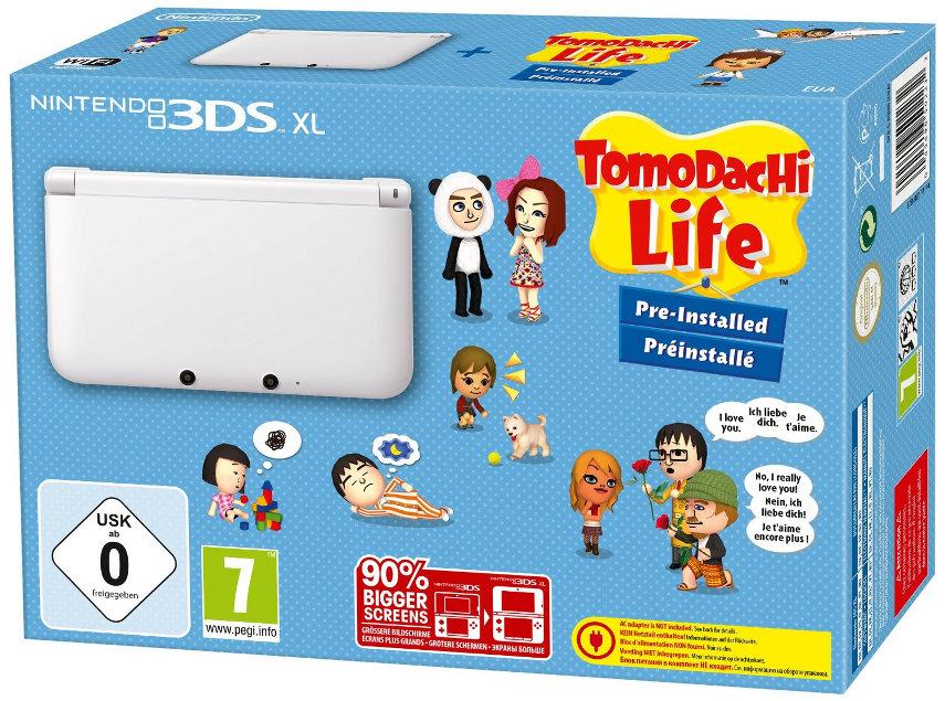 Das Tomodachi Life-Bundle ist das ideale Paket für alle, die sich mit Freunden auf eine eigene Insel zurückziehen wollen.