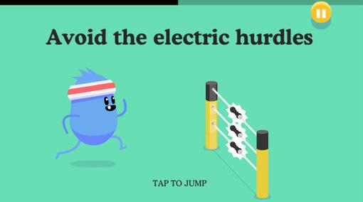 Ein Screenshot aus Dumb Ways To Die 2: Wie du siehst, sollst du in dem Mobilspiel simpel erscheinende Mini-Aufgaben bewältigen. Aber die haben es in sich!
