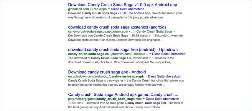 Candy Crush Soda Saga als APK-Download: Was dir im Internet angeboten wird, klingt verlockend – ist aber oft sehr gefährlich!