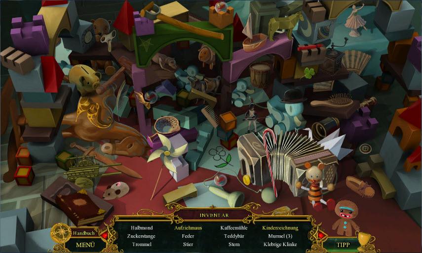Wimmelbilder, Minispiele und mehr erwarten dich im märchenhaften Fearful Tales - Hänsel und Gretel.