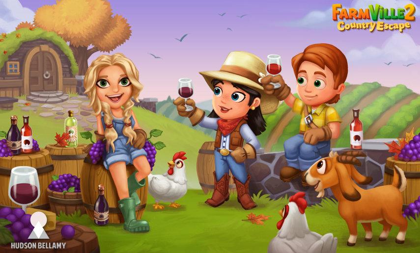 Kate Hudson bekommt einen Auftritt in FarmVille 2. Jetzt kannst du Wein produzieren und die Rezepte des Hollywood-Stars nachkochen.