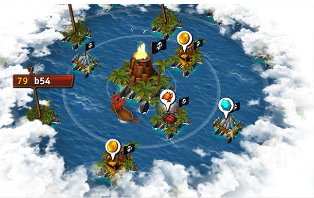 Die umliegenden Inseln bieten Rohstoffe, die du sammeln solltest.
