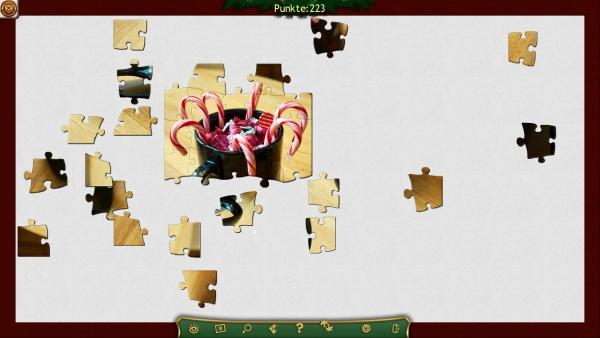 Weihnachts Puzzle Screenshot