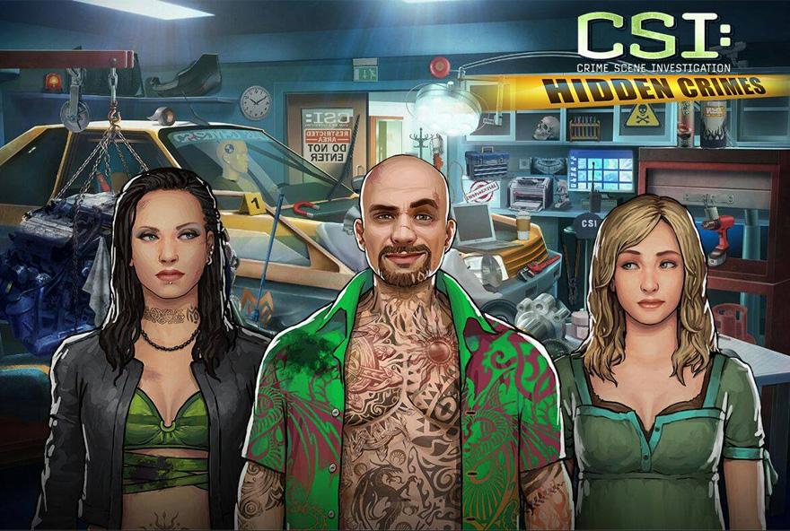 Löse nun auf Facebook spannende CSI-Fälle.