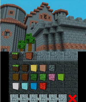 So sieht Cube Creator auf dem Nintendo 3DS aus.