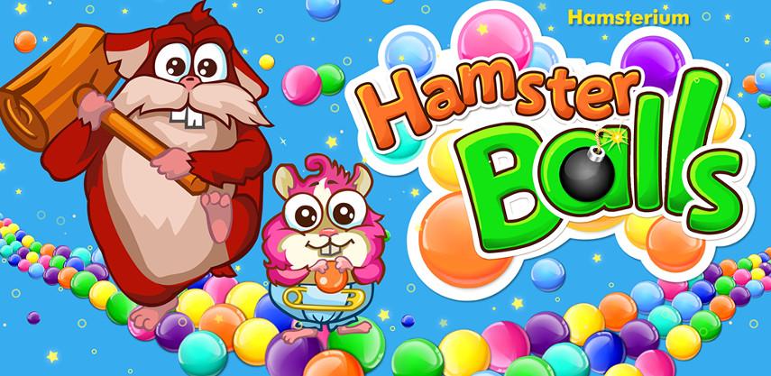 Hamster Balls. Der witzige Bubble-Shooter erwartet dich ab sofort auf Android und Facebook.