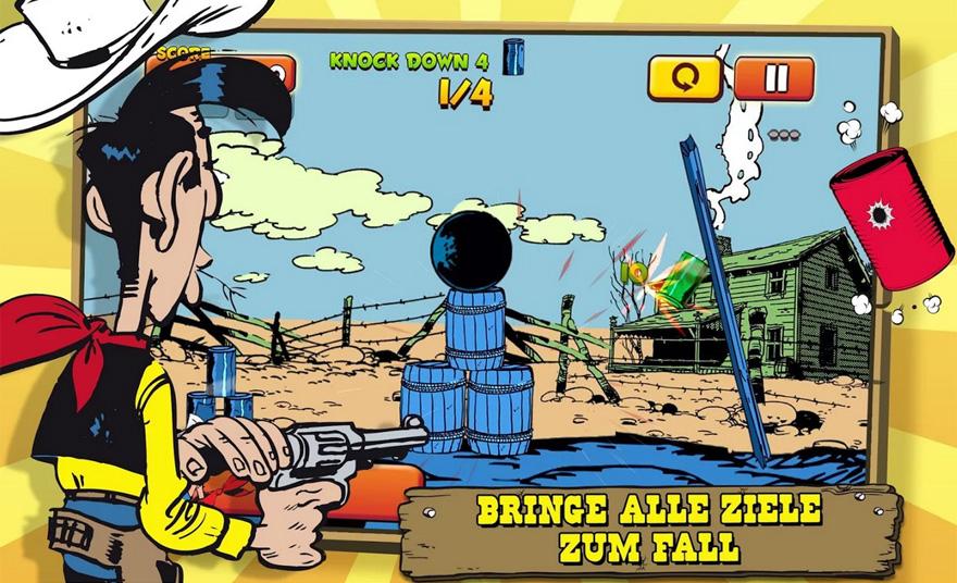Lucky Luke-Game ist zwar ein Shooter, aber einer mit Köpfchen.