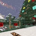 Auch in Minecraft feiert man Weihnachten