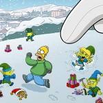 Die Simpsons: Springfield ist in Weihnachtsstimmung