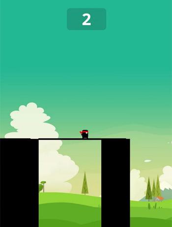 Einfach, aber fesselnd: die App Stick Hero.