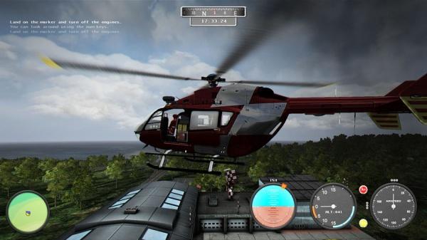 Eines der fünf verschiedenen Helikoptermodelle -