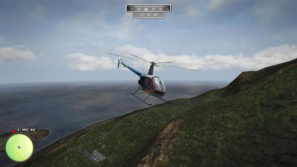 Keine Lust auf eine Mission? Kein Problem! Das  große Gelände kann frei erkundet werden.