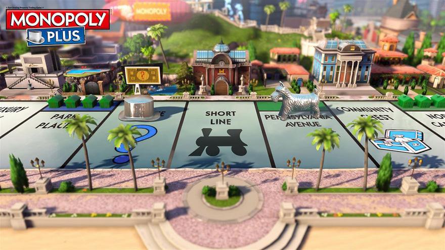 Monopoly Plus als Umsetzung für Xbox Live Arcade ist eine echte Augenweide geworden.