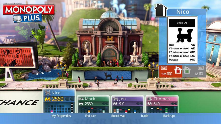 Mit der Demo von Monopoly Plus kannst du ohne Risiko testen, ob dir die Konsolenfassung des Brettspiels gefällt.