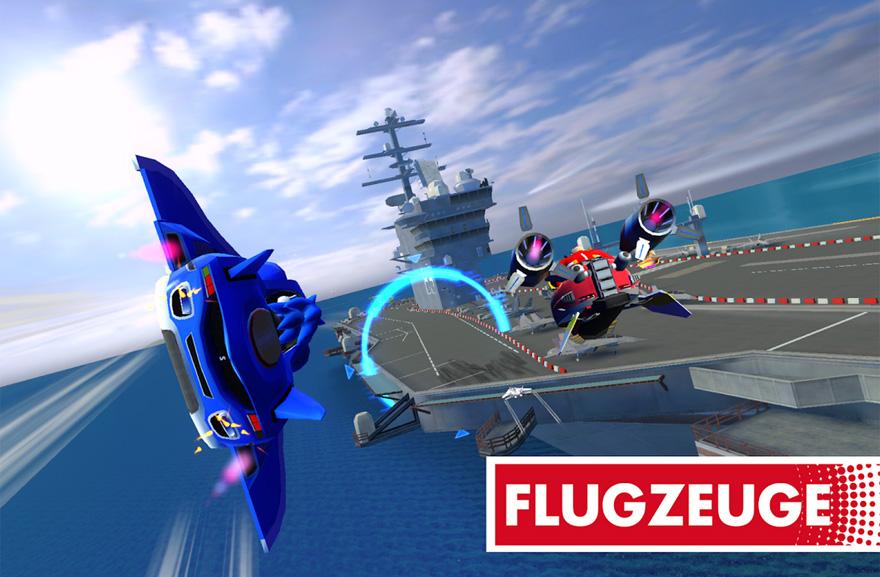 Autos, Boote und Flugzeuge: Dieses Sonic-Rennspiel bietet viel Abwechslung.