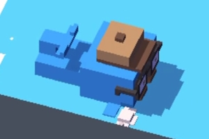 Crossy Road Hipster Wal