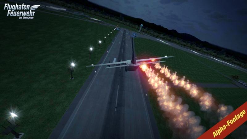 Flughafen Feuerwehr Simulation 2015