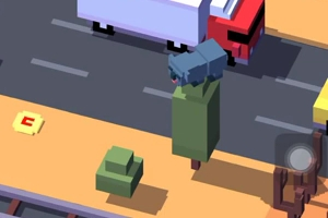 crossy road drop bear