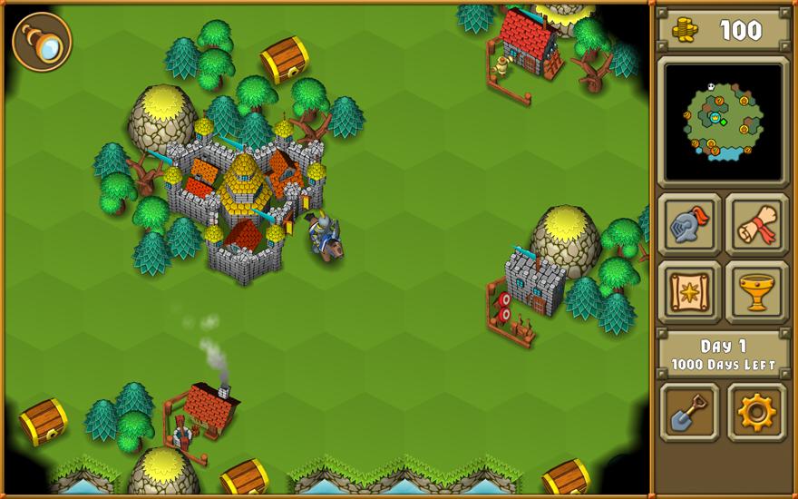 Erkunde eine große Welt, kämpfe gegen Feinde und finden den Heiligen Gral - das ist deine Aufgabe in diesem  Casual Game für iPhone, iPad und Android-Geräte.