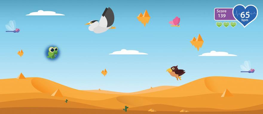 Weiche in unterschiedlichen Landschaften den entgegenkommenden Vögeln aus und fresse die fliegenden Insekten.